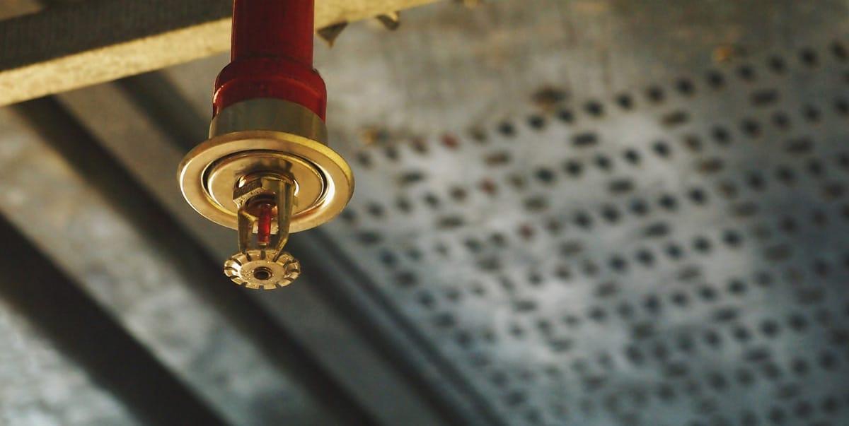 Сприклерная система пожаротушения