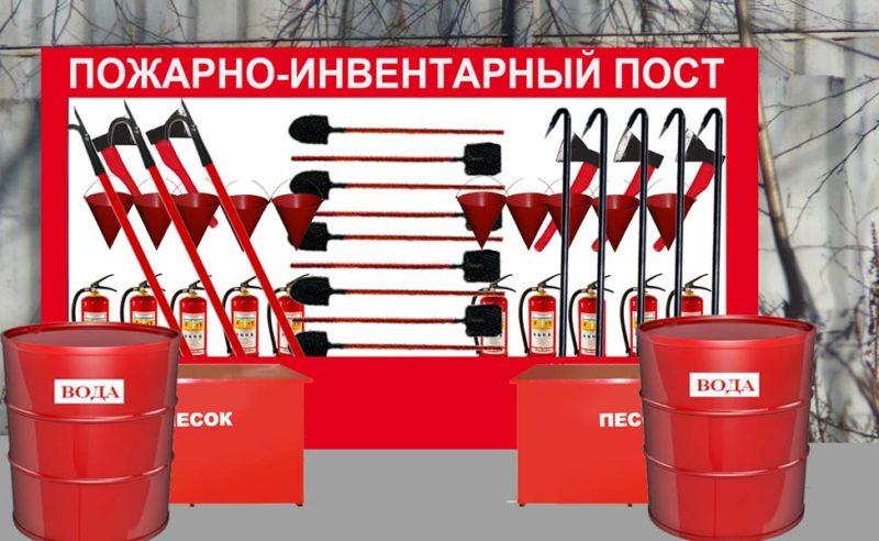 пожарный пост требования в нормативных документах