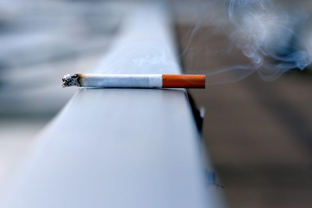 пожарная безопасность место для курения