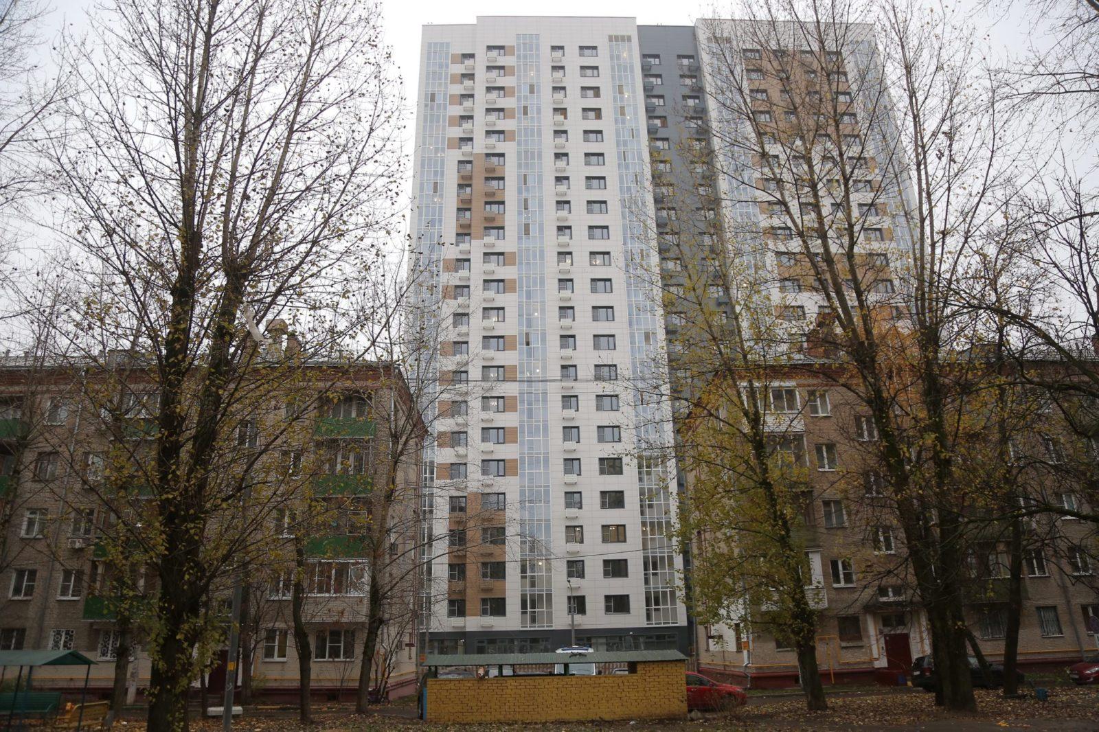 По программе «Реновация жилья в г.Москва»